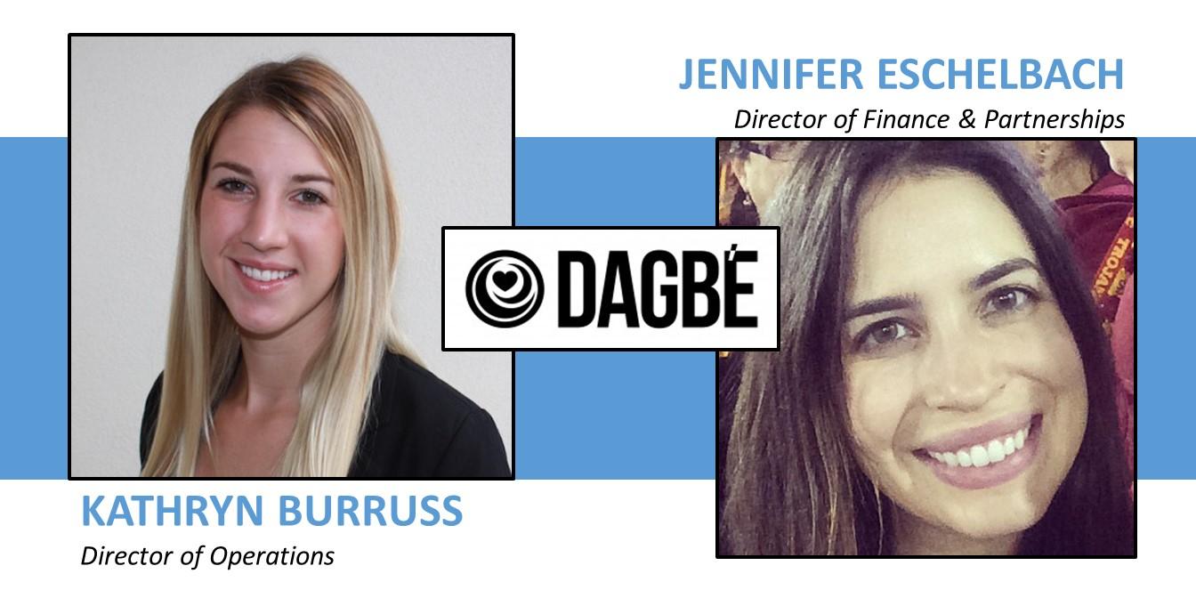 New Dagbe Team Members